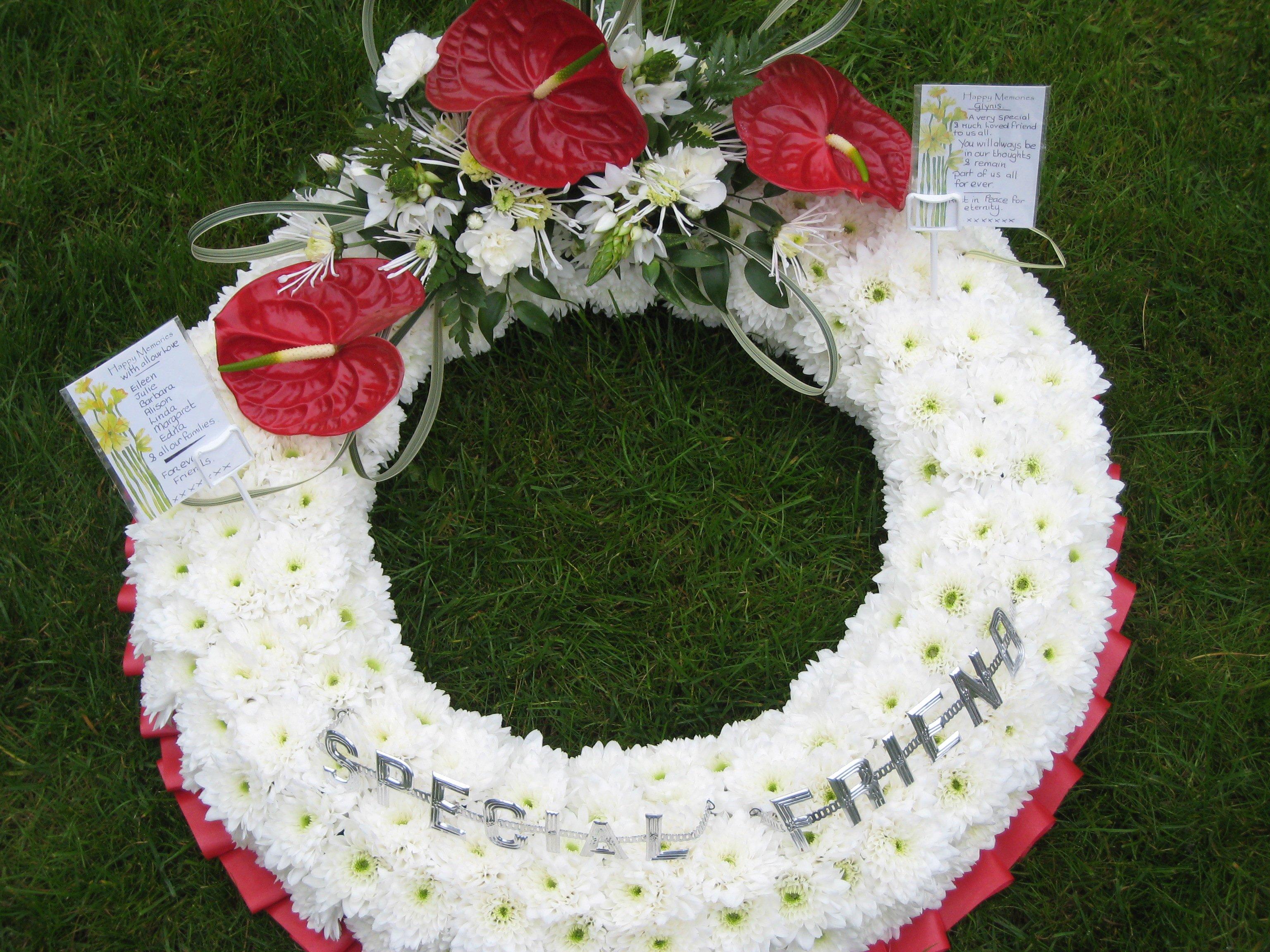 Jacaranda Flowers Funeral Tributes Wreaths Teardrop And Posy