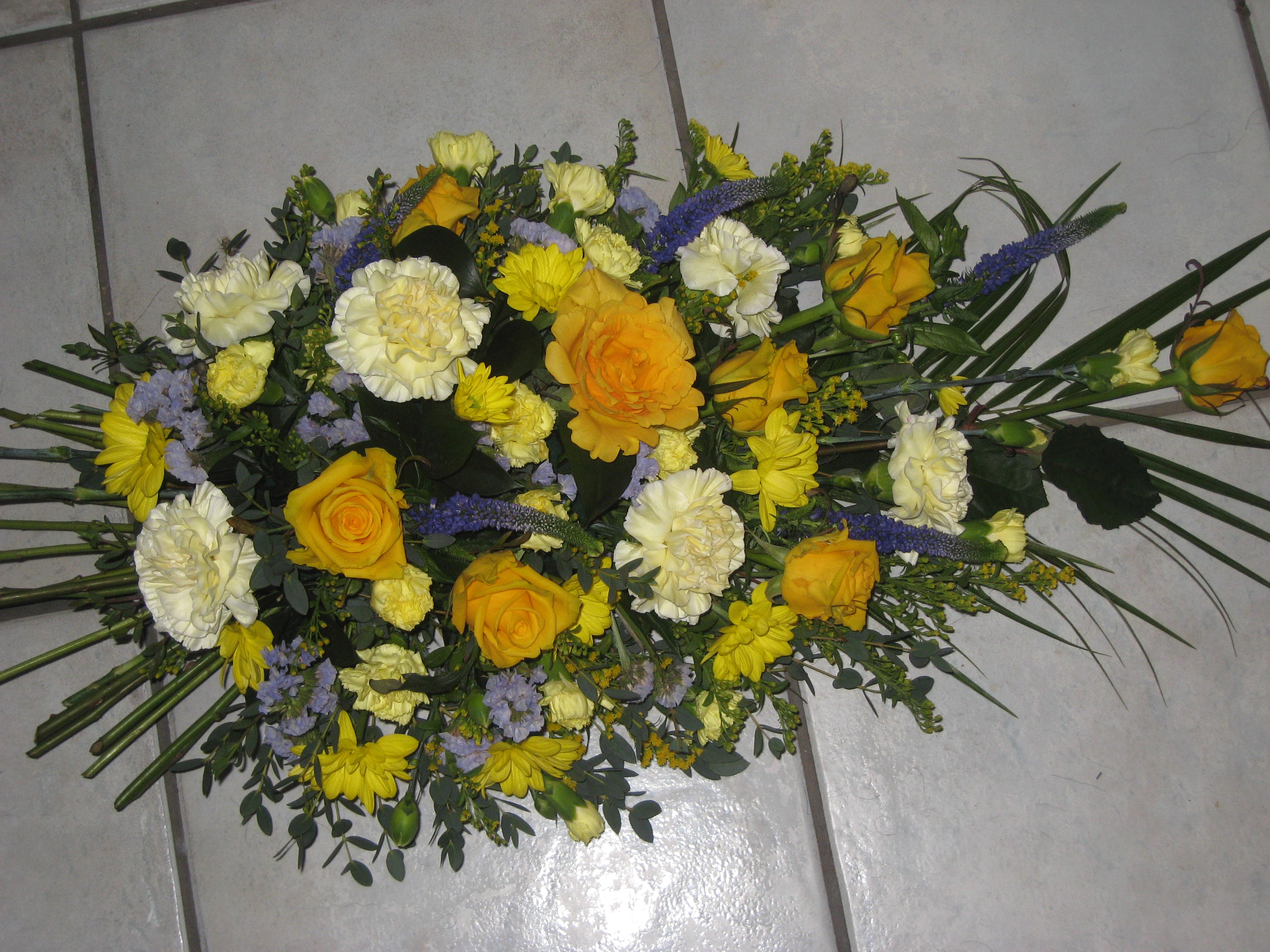 Jacaranda Flowers Funeral Tributes Wreaths Teardrop And Posy