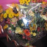 Gift Wrapped Mixed Bouquet £25