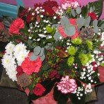 Christmas Hand Tied Bouquet from £25.00